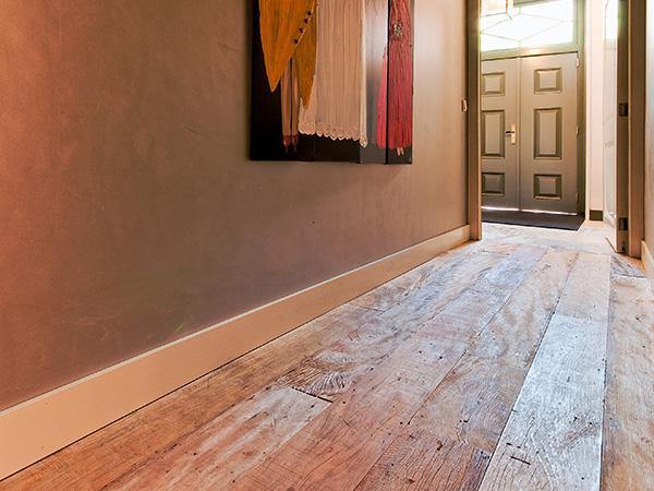 Reclaimed antique oak plank