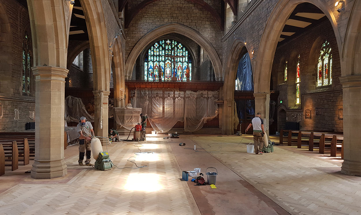 Church Floor Renovation
