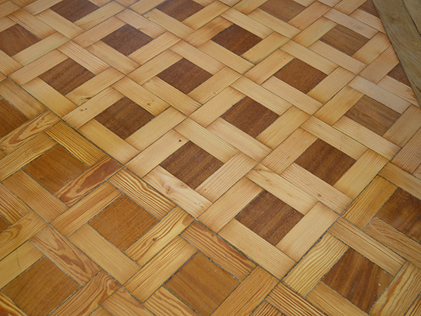 Renovated basket weave